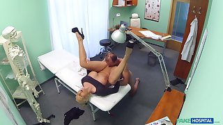 Nude second-rate porn with a gung-ho doctor and a mature latitudinarian
