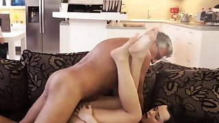 Girl sucks old man first discretion What would you choose -